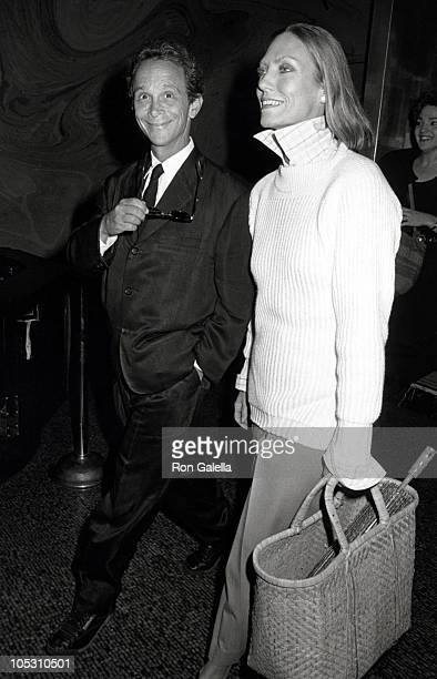 "Joel Grey and Guest during New York Premiere of ""That's Life"" at Coronet Theater in New York City, New York, United States."