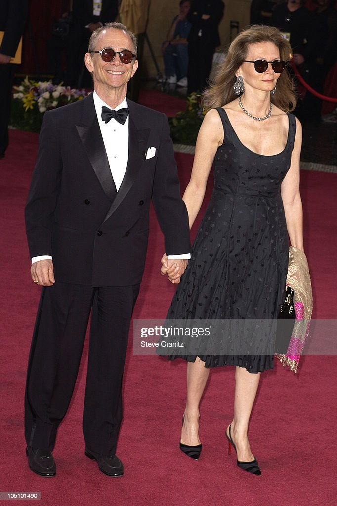 Joel Grey and Guest during The 75th Annual Academy Awards - Arrivals at The Kodak Theater in Hollywood, California, United States.
