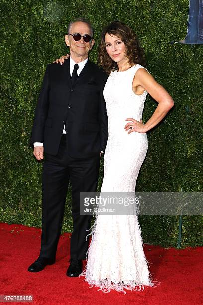 Joel Grey and Jennifer Grey attend the American Theatre Wing's 69th Annual Tony Awards at Radio City Music Hall on June 7, 2015 in New York City.