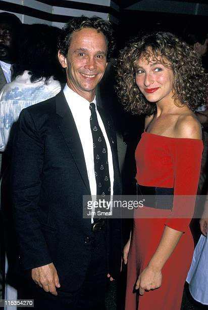 Joel Grey and Jennifer Grey during Premiere of Dirty Dancing at Gemini Theater in New York City New York United States
