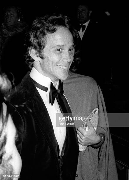Joel Grey and wife Jo Wilder attend the party for 26th Annual Tony Awards on April 23 1972 at the Americana Hotel in New York City