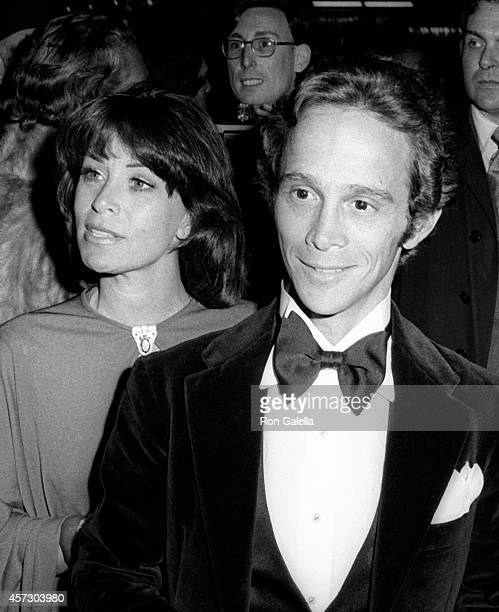 Joel Grey and wife Jo Wilder attend the party for 26th Annual Tony Awards on April 23, 1972 at the Americana Hotel in New York City.