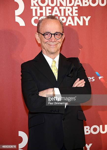 Joel Grey attends Roundabout Theatre Company's 2015 Spring Gala Honoring Dame Helen Mirren sponsored by FIIJI water at the Grand Ballroom at The...