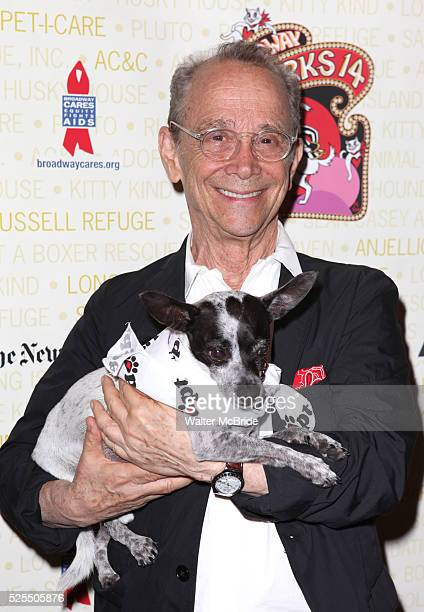 Joel Grey backstage at Broadway Barks 14 at the Booth Theatre on July 14 2012 in New York City Marking its 14th anniversary Broadway Barks founded by...