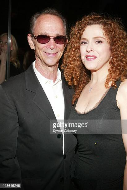 Joel Grey Bernadette Peters during Carolina Herrera hosts a party for the introduction of Patricia Wexler MD a new skin care line at Carolina Herrera...