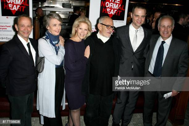 Joel Grey Cynthia OíNeal Daryl Roth Larry Kramer Jordan Roth and Joseph Benincasa attend The 25th Anniversary Benefit Stages Reading of 'THE NORMAL...