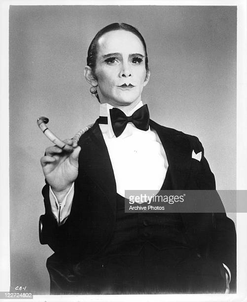 Joel Grey in full makeup in a scene from the film 'Cabaret' 1972