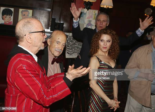 Joel Grey Original Producer David Black and Bernadette Peter and cast at the 50th Anniversary Reunion of the cast of the legendary Broadway Musical...