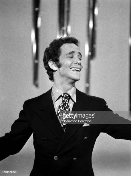 "Joel Grey performs on ""This Is Tom Jones"" TV show in circa 1970 in Los Angeles, California ."