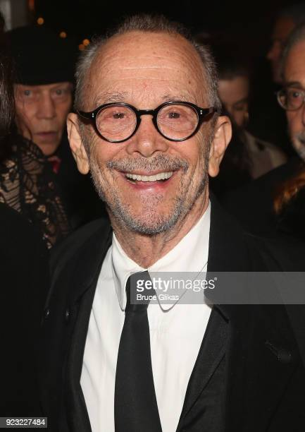 Joel Grey poses at Bernadette Peters Opening Night celebration for Hello Dolly on Broadway at Sardis on February 22 2018 in New York City