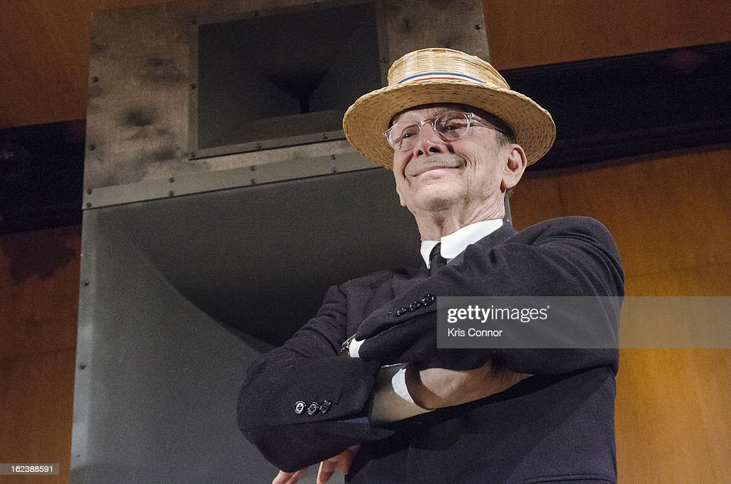 Joel Grey poses for a photo during 'Cabaret' Washington DC Screening Honoring Joel Grey at Smithsonian National Museum Of American History on February 22, 2013 in Washington, DC.
