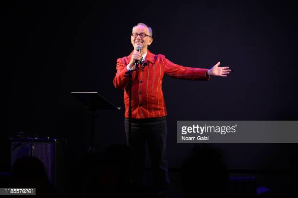 Joel Grey speaks at The Art Students League's 2019 Gala at The Edition Hotel on November 04, 2019 in New York City.