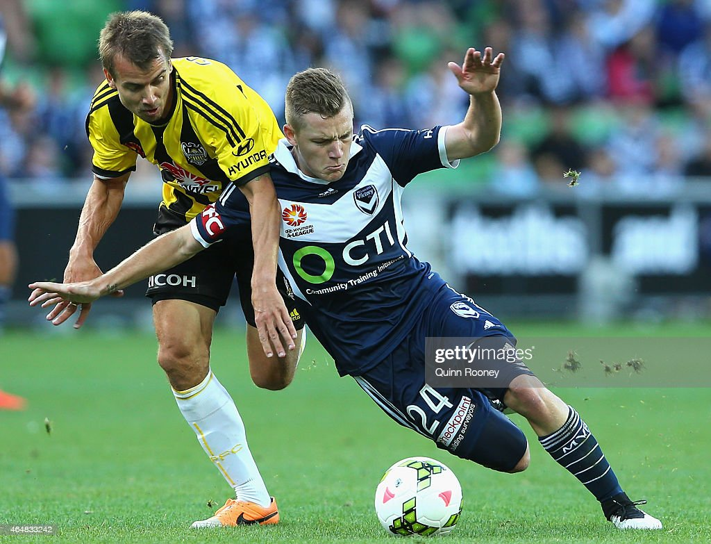 A-League Rd 19 - Melbourne v Wellington