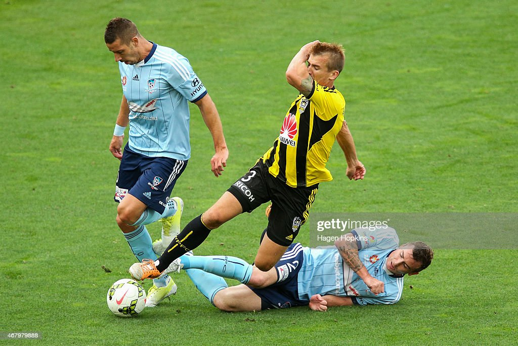 A-League Rd 23 - Wellington v Sydney