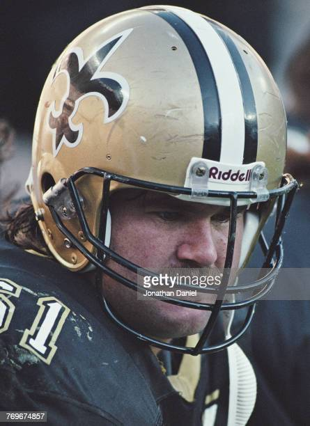 Joel Hilgenberg Center for the New Orleans Saints during the American Football Conference Central game against the Cincinnati Bengals on 4 November...