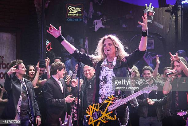 Joel Hoekstra attends 'Rock Of Ages' Final Performance On Broadway at Helen Hayes Theatre on January 18 2015 in New York City