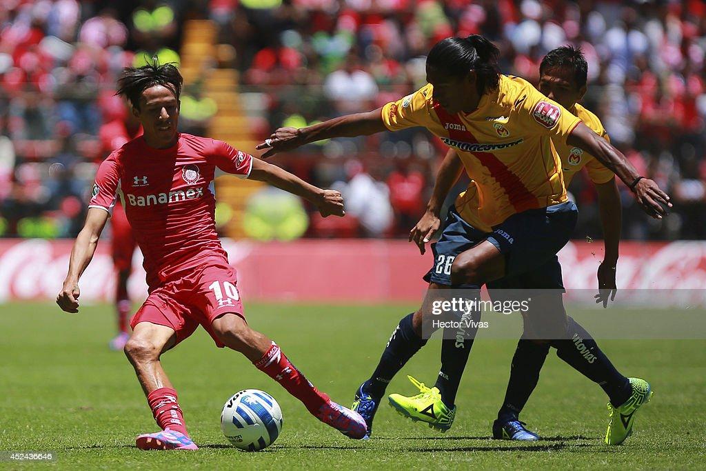 Toluca v Morelia - Apertura 2014 Liga MX