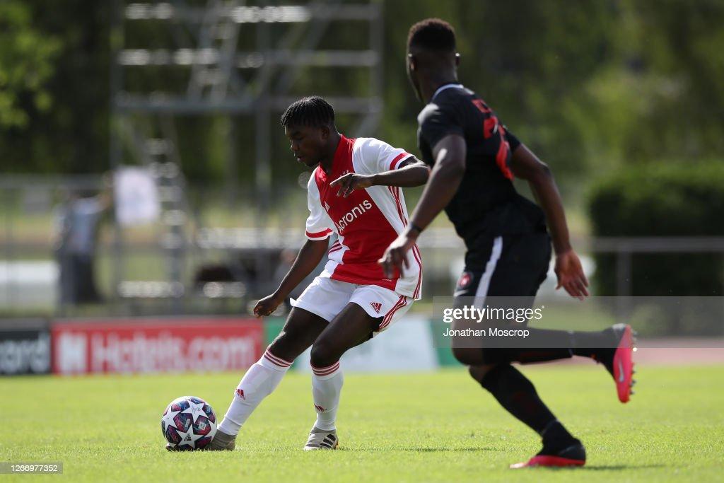 Midtylland and Ajax - UEFA Youth League Quarter Final : News Photo