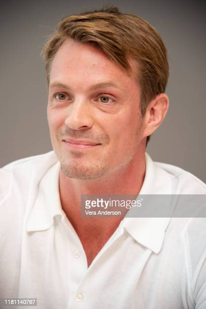 "Joel Kinnaman at the ""For All Mankind"" Press Conference at The West Hollywood Edition on October 13, 2019 in West Hollywood, California."