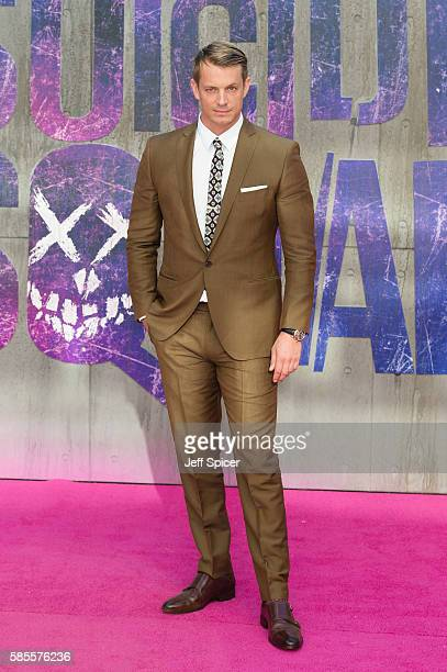 Joel Kinnaman attends the European Premiere of 'Suicide Squad' at Odeon Leicester Square on August 3 2016 in London England