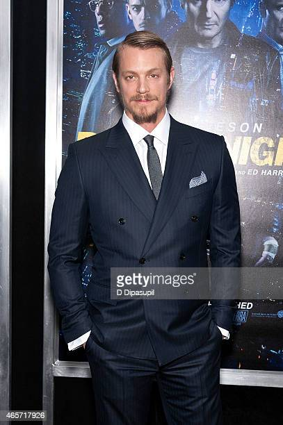 Joel Kinnaman attends the 'Run All Night' New York Premiere at AMC Lincoln Square Theater on March 9 2015 in New York City