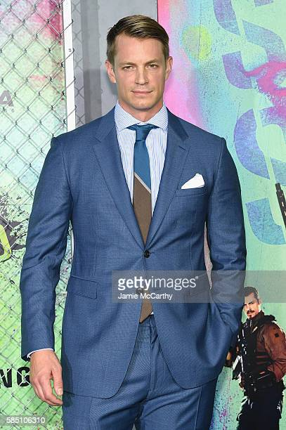 Joel Kinnaman attends the 'Suicide Squad' World Premiere at The Beacon Theatre on August 1 2016 in New York City