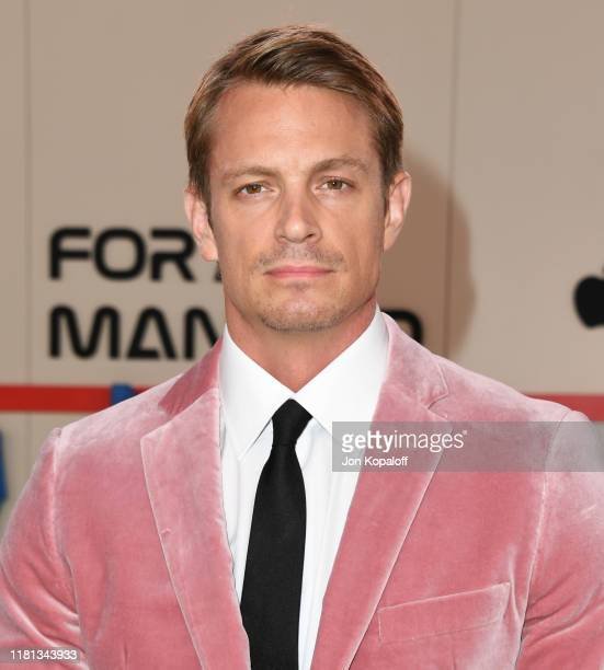 "Joel Kinnaman attends the World Premiere Of Apple TV+'s ""For All Mankind"" at Regency Village Theatre on October 15, 2019 in Westwood, California."
