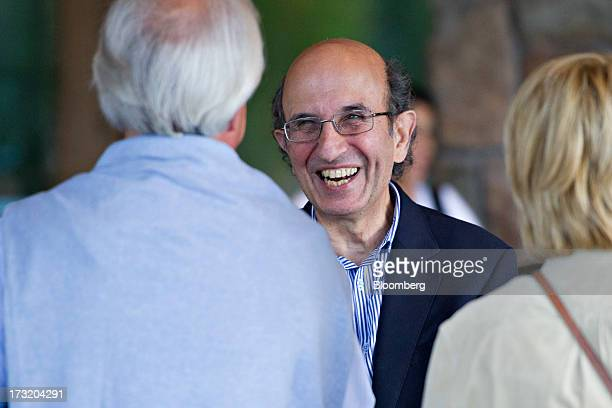 Joel Klein chief executive officer of Amplify the News Corp education unit arrives at the Allen Co Media and Technology Conference in Sun Valley...