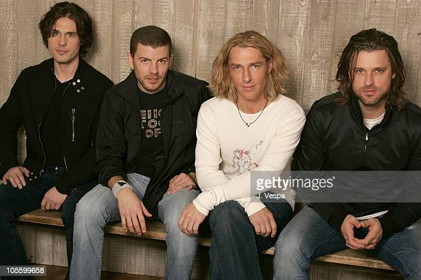 Joel Kosche Will Turpin Ed Roland and Dean Roland of Collective Soul