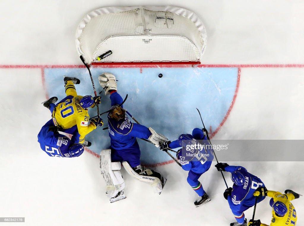 Sweden v Italy - 2017 IIHF Ice Hockey World Championship