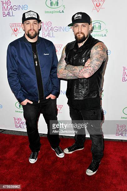 Joel Madden and Benji Madden of The Madden Brothers attend the Imagine Ball Benefiting Imagine LA at House of Blues Sunset Strip on June 4 2015 in...