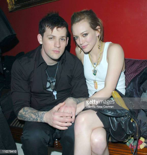 Joel Madden and Hilary Duff during NYLON Celebrates The Official Opening of Boudoir at Boudoir in New York City New York United States