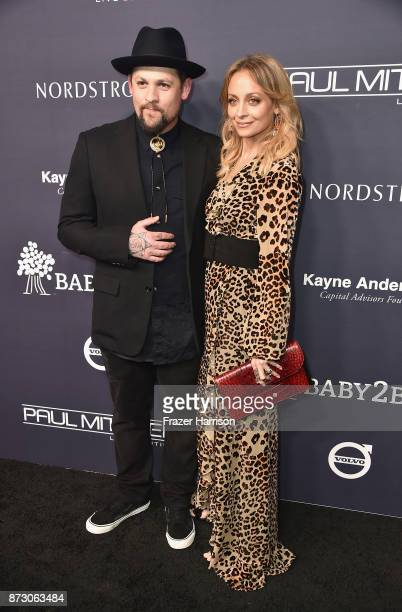 Joel Madden and Nicole Richie attends the 2017 Baby2Baby Gala at 3LABS on November 11 2017 in Culver City California