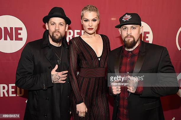 Joel Madden Jessie J and Benji Madden attend the ONE Campaign and 's It Always Seems Impossible Until It Is Done 10th anniversary celebration at...
