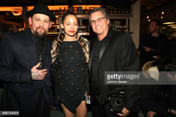 Joel Madden Nicole Richie and Kevin Mazur attend the Republic Records GRAMMY After Party at Catch LA on February 12 2017 in West Hollywood California