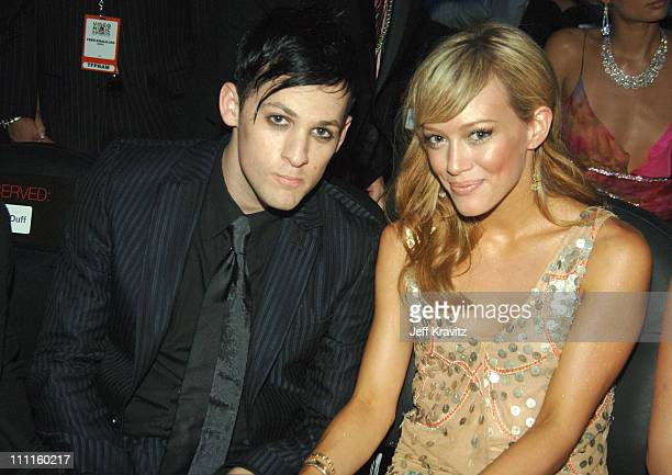 Joel Madden of Good Charlotte and Hilary Duff *Exclusive*