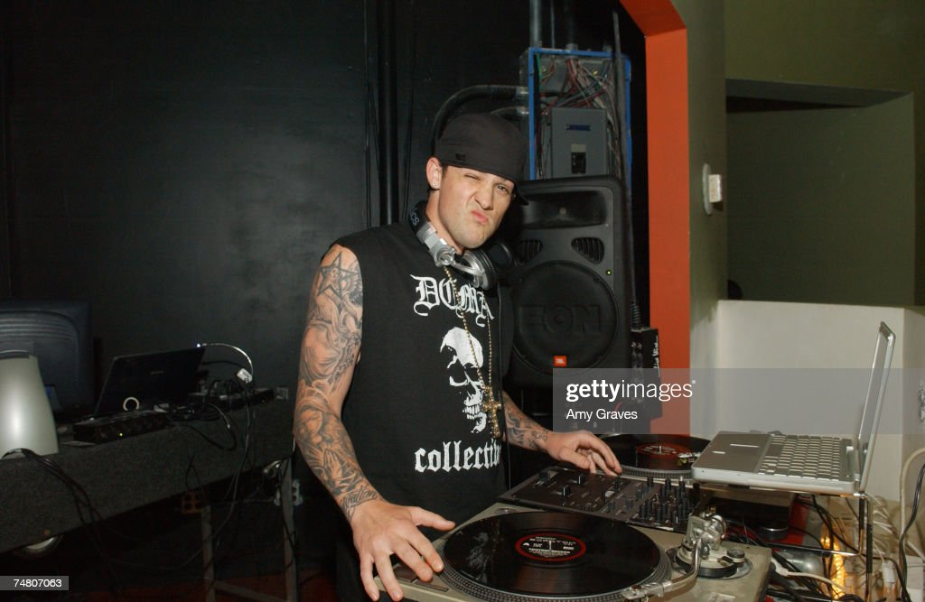 DJ Joel Madden of Good Charlotte at the Element Hollywood in Hollywood, California