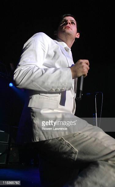 Joel Madden of Good Charlotte during Good Charlotte in Concert - March 19, 2005 at Birmingham Academy in Birmingham, United Kingdom.