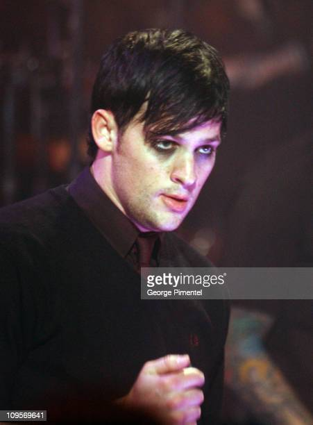 Joel Madden of Good Charlotte during Good Charlotte Visits MuchMusic Studios in Toronto at Chum City Building in Toronto Ontario