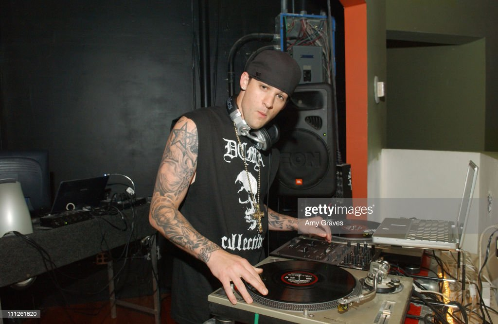 Joel Madden of Good Charlotte during NYLON Celebrates Its Annual Music Issue With MySpace.com at Element Hollywood in Hollywood, California, United States.