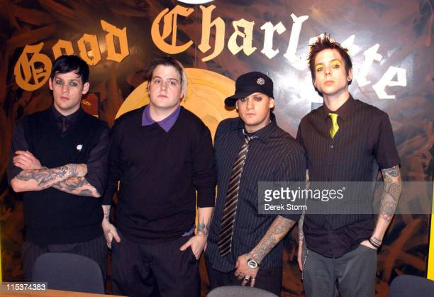 Joel Madden, Paul, Benji Madden and Billy of Good Charlotte
