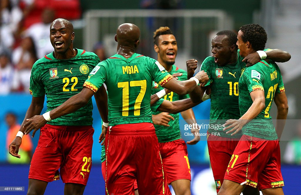 Cameroon v Brazil: Group A - 2014 FIFA World Cup Brazil : News Photo