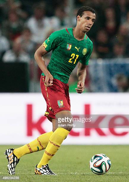 Joel Matip of Cameroon in action during the International Friendly match between Germany and Cameroon at Borussia Park Stadium on June 1 2014 in...