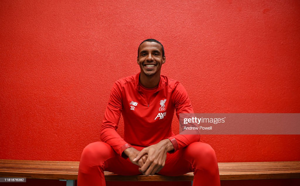 Joel Matip Signs Contract Extension Liverpool Training Session : News Photo