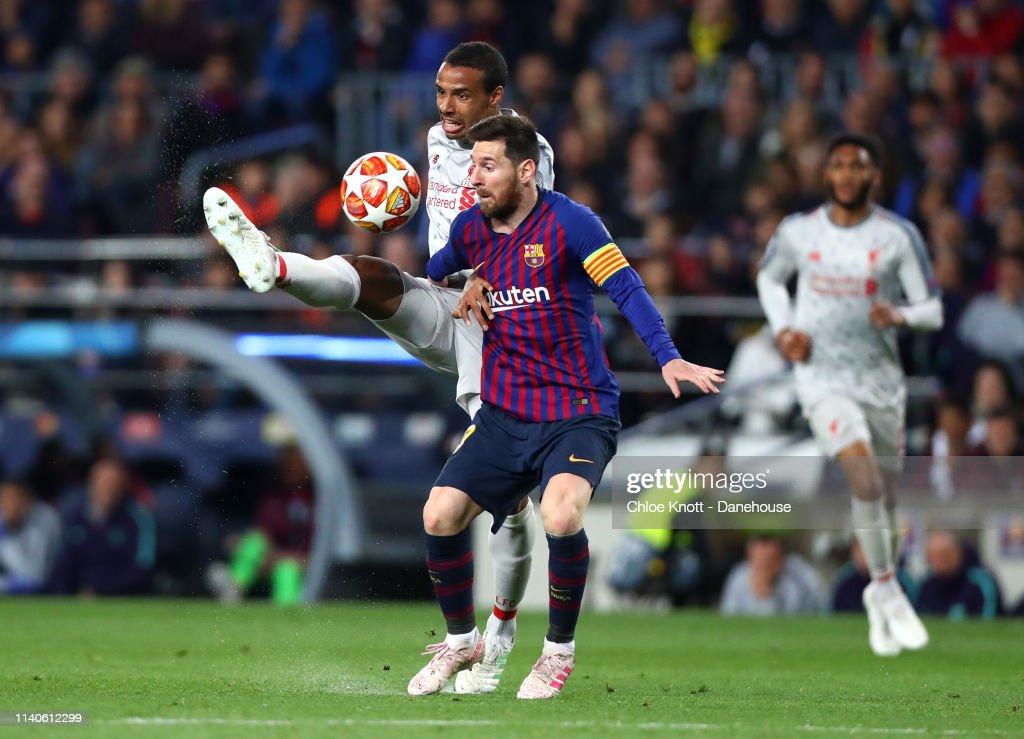 de866a4f7 FC Barcelona v Liverpool FC - UEFA Champions League Semi Final first leg