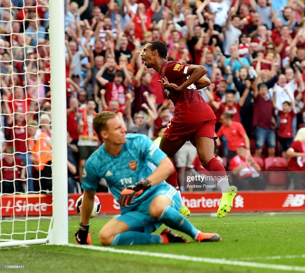 Liverpool FC v Arsenal FC - Premier League : ニュース写真
