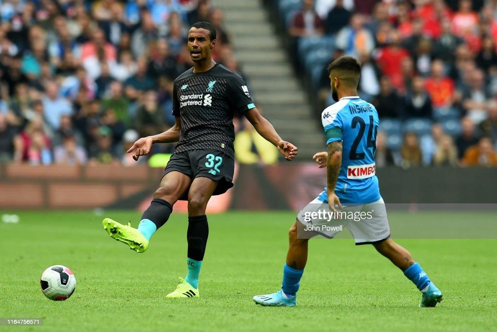 Liverpool v SSC Napoli - Pre-Season Friendly : Nachrichtenfoto