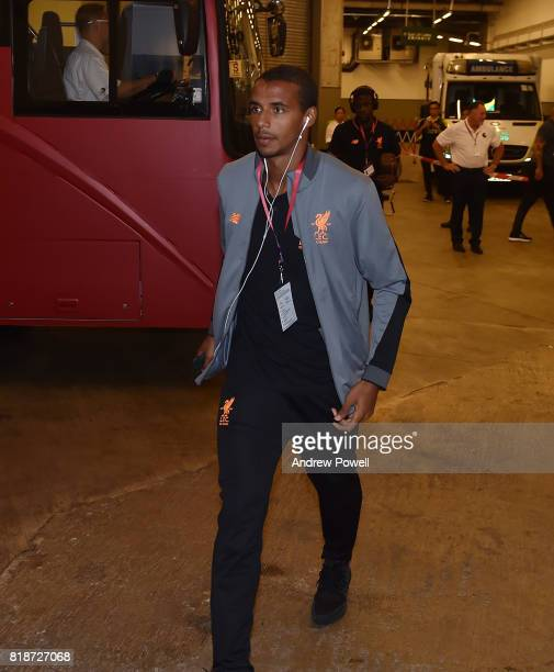 Joel Matip of Liverpool during the Premier League Asia Trophy match between Liverpool FC and Crystal Palace on July 19 2017 in Hong Kong Stadium Hong...
