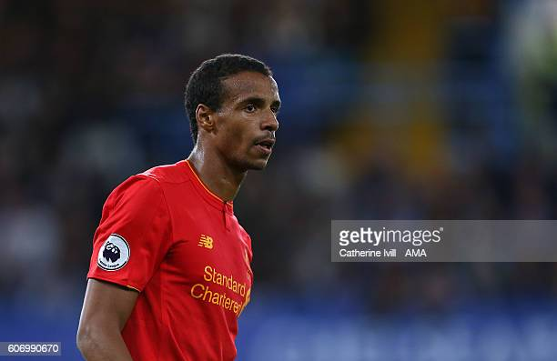 Joel Matip of Liverpool during the Premier League match between Chelsea and Liverpool at Stamford Bridge on September 16 2016 in London England