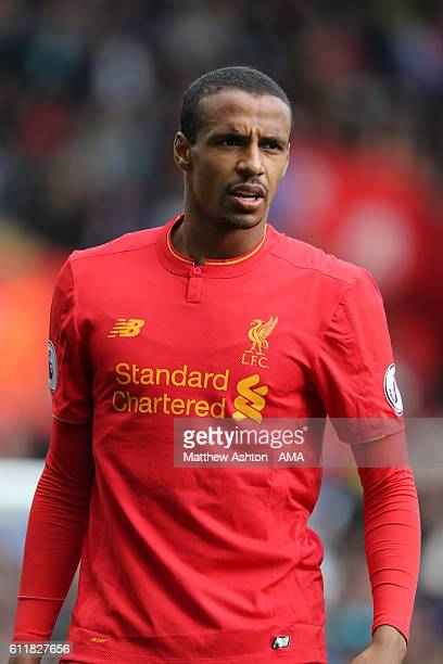 Joel Matip of Liverpool during the Premier League match between Swansea City and Liverpool at Liberty Stadium on October 1 2016 in Swansea Wales